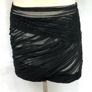 A/X Armani Exchange tulle mini skirt